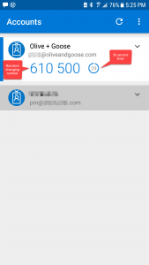 multi factor authentication sample image